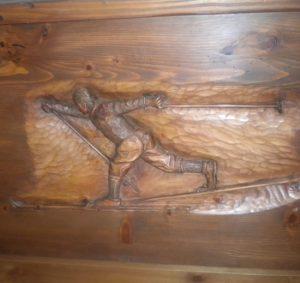 creazioni legno maestro sci