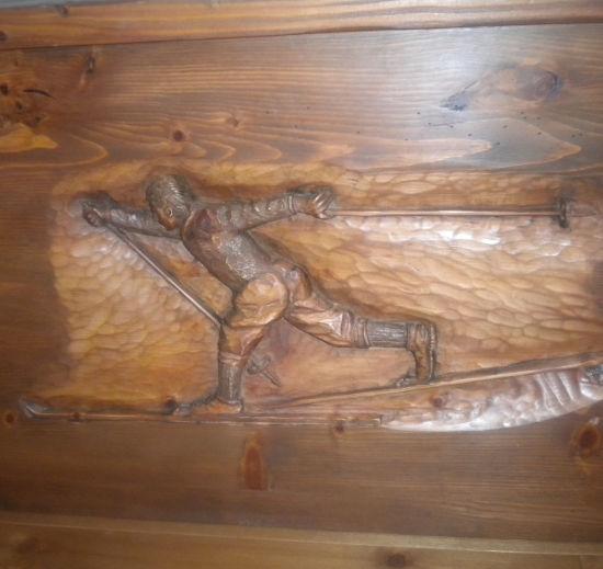 Creazioni legno - Maestro sci