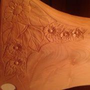 tagliere legno particolare