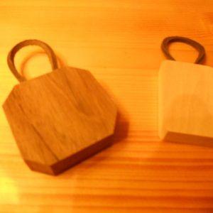 base portachiave legno