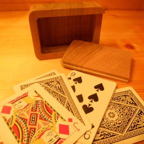 semilavorato custodia carte legno